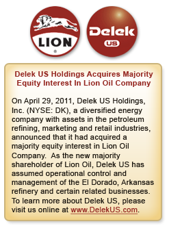Lion Oil gas tank