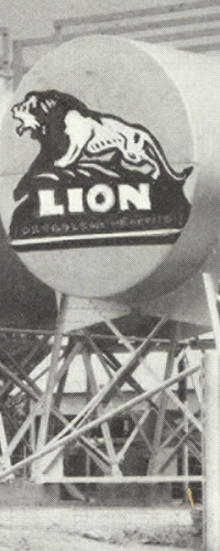 An archive photo of Lion Oil refinery
